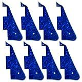 8 Pcs Blue Pearl 3PLY New-Pickguard For Les Paul Standard