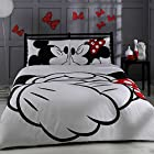 Disney, Mickey & Minnie, Adore, Bedding Set, Double (Queen)