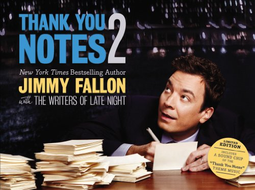 Thank You Notes Jimmy Fallon