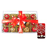 Chocholik Luxury Chocolates - 15pc Magical Collection Of Truffles With 3d Mobile Cover For IPhone 6 - Gifts For...