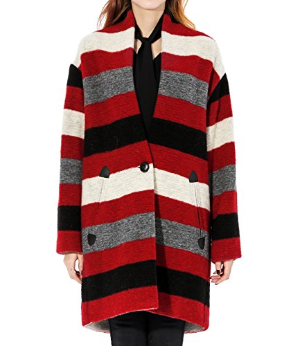 wiberlux-isabel-marant-gabrie-womens-striped-shawl-collar-wool-coat-38-red