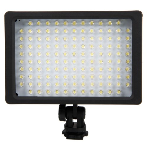 Micromall(Tm) Hd-126 Led Digital Video Light Compatible With Dslr Camera
