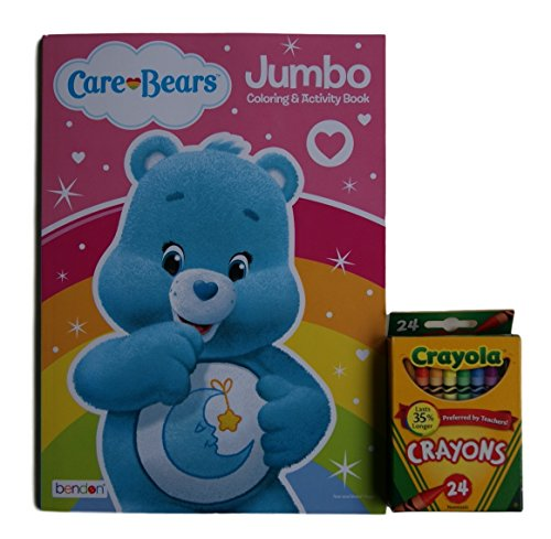 Care Bears ''Bedtime Bear'' Jumbo Coloring and Activity Book with Crayola Crayons (Original Care Bears compare prices)