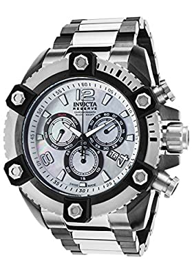 Invicta Men's 15835 Reserve Analog Display Swiss Quartz Two Tone Watch