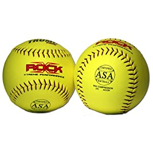 Buy 1 Dozen Trump X-rock ASA 12 Softballs - 44cor .375 Compression (X-ROCK-ASA-Y-2) by Trump/Evil Sports