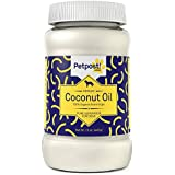 Petpost | Coconut Oil - Hot Spot & Itchy, Dry Skin Treatment for Dogs - 100% Certified Organic Extra Virgin Superfood & Moisturizer for Skin and Coat, & Dog Itch Relief- 16 Oz.