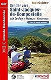 Sentier vers Saint-Jacques-de-Compostelle : Moissac-Roncevaux: Topo-guide de Grande Randonn�e - Edition 2014
