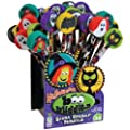 Raymond Geddes, Boo Buddies Pencil with Giant Eraser, 36 Per Display (67309)