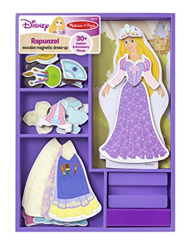 Rapunzel Wooden Magnetic Dress-Up Play Set