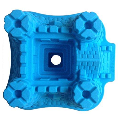 LYNCH Château en forme 3D silicone Moule à gâteau au chocolat Fondant Outils