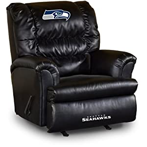 NFL Seattle Seahawks Big Daddy Leather Recliner by Imperial