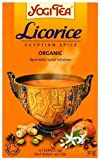 Pack of 4 Licorice Egyptian Spice Yogi Tea 30g (17 Teabags) - Total 60 Bags