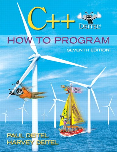 C++ How to Program (7th Edition)