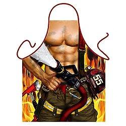 'Fireman' - Sexy Kitchen Apron - 100% Polyester