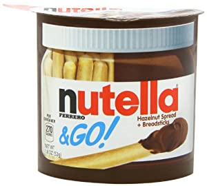 Nutella Go, 1.8 Ounce (Pack of 24)