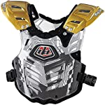 Troy Lee Designs Body Guard 2 Adult Roost Guard Off-Road/Dirt Bike Motorcycle Body Armor - Gold / Small/Medium