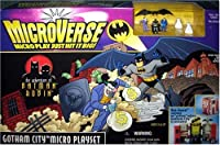Microverse Batman & Robin Gotham City Playset from Kenner