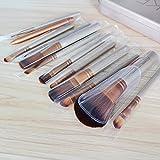 AiSi® 12 Pcs Bamboo Handle Makeup Brushes Kabuki Powder Foundation blusher Cosmetic Brushes With Box