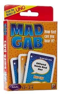 Mattel Mad Gab Picto Gabs Card Game