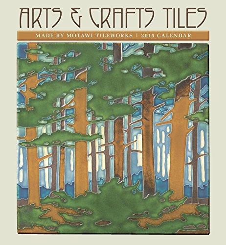 Arts & Crafts Tiles 2015 Calendar