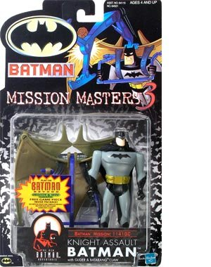 Batman Mission Masters 3 Action Figure Signed by Bruce Timm 2000 Hasbro MOC