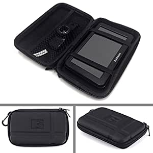 Stouch 5.2 Inch Hard Carrying Case GPS,Hard Shell Case for Tomtom and Garmin 5- Inch Gps Case(black)
