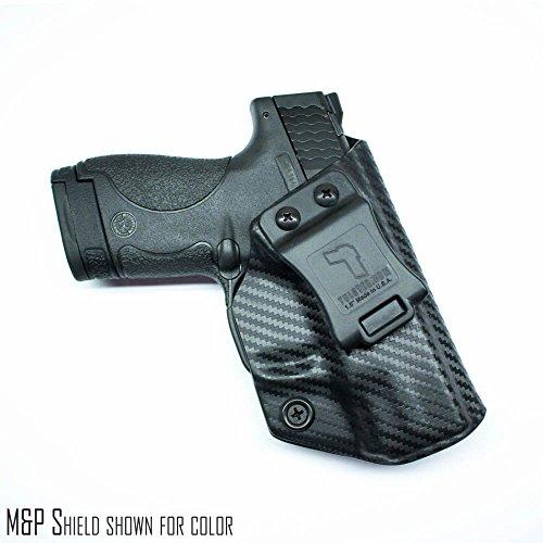 M&P Standard 9mm/.40 Holster - Tulster Profile Holster IWB (Black Carbon Fiber - Right Hand)