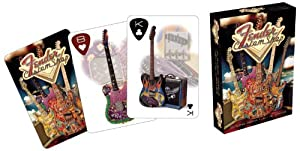 Fender Guitars and Amps Playing Cards