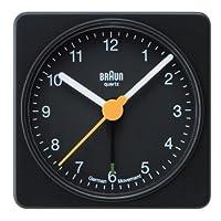 【正規輸入品】 BRAUN 目覚まし時計 BNC002BKBK
