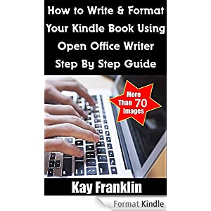 How to write a book for kindle format to pdf