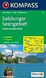 Salzburger Seengebiet, Kobernaußerwald: Wander-, Bike- und Skitourenkarte. GPS-geeignet. 1:50.000