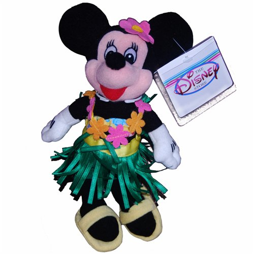 Minnie Hula Dancer - Disney Mini Bean Bag Plush - 1
