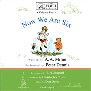 Now We Are Six Audiobook