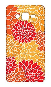 Samsung Galaxy ON5 Floral Print Design Mobile Case Hard Back Cover for girls - Printed Designer Cover - SGON5FLRLB13