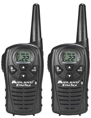 Discover Bargain Midland LXT118 22-Channel GMRS with 18-Mile Range, E Vox, and Channel Scan (Pair)