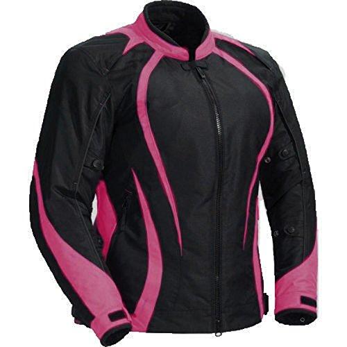 Juicy-trendz-Le-signore-Motociclo-Giacca-Da-donna-blindata-Impermeabile