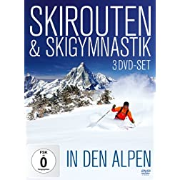 Skirouten & Skigymnastik in den Alpen [3 DVDs]