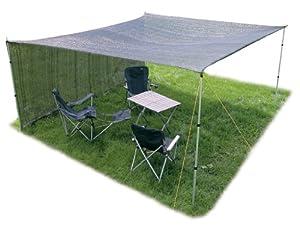 4x4 meter garten camping schattentuch sandkasten sonnenschutz halbdurchl ssig garten. Black Bedroom Furniture Sets. Home Design Ideas