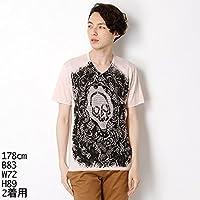 カスタムカルチャー(CUSTOM CULTURE) Tシャツ(Vネック プリントTシャツ)