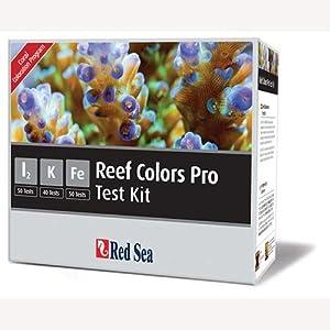 Red Sea Reef Colors Pro Kit - Reef Care - Iodine, Potassium & Iron