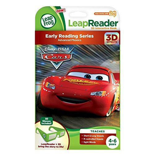 Leap Frog Leap Reader Disney/Pixar Cars 3 D Book (Works With Tag) And Disney Sofia The First: The Buttercup Way...