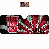 Licensed NCAA North Carolina State Wolfpack Sunshade U.A.A. Inc. Decal Universal