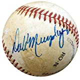 Dale Murphy Autographed Signed NL Feeney Game Used Baseball Braves #G68868 - JSA Certified - MLB Autographed Game Used Bases