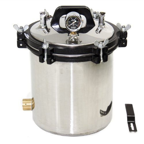Ten-High 18 Liter Steam Autoclave Sterilizer Tattoo Dental Commercial Unit New