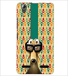 PrintDhaba Scrat D-2987 Back Case Cover for LENOVO A6000 PLUS (Multi-Coloured)