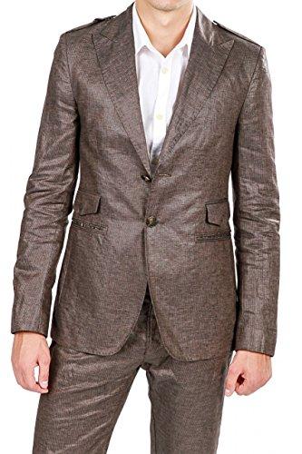 dirk-bikkembergs-vestes-veston-fanras-homme-couleur-brun-fonce-taille-48