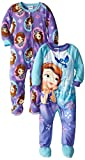 Sofia the First Little Girls' Two-Pack Princess Sophia Bodysuits