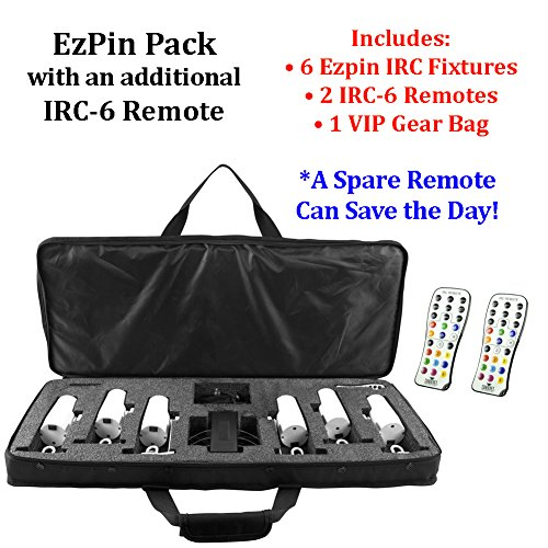 Chauvet Lighting Ezpin Pack With Additional Irc-6 Remote