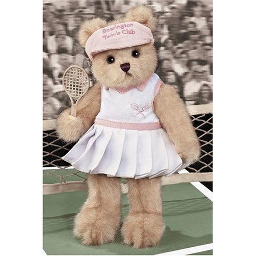 Bearington Tennis Courtney Plush Teddy Bear