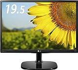 LG ディスプレイ モニター 19.5インチ/IPS 非光沢/WXGA+(1,440×900)/アナログ1系統/ブルーライト低減機能 20MP48A-P